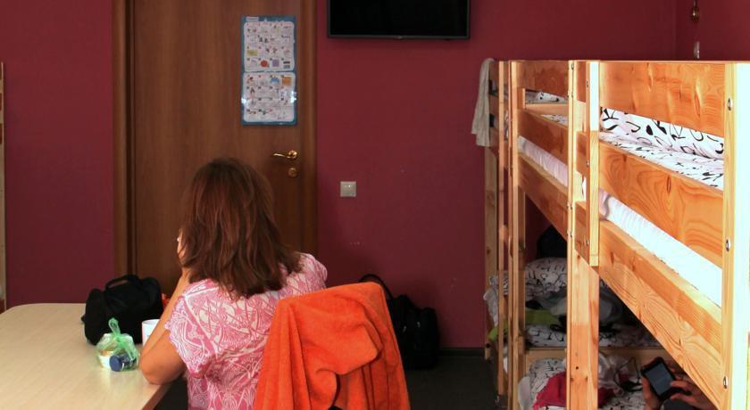 Фото номер Парк хостел Кровать в общем номере смешанного типа с 16 кроватями