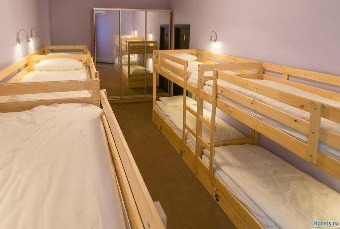 Фото номер Парк хостел Кровать в номере на 10 человек