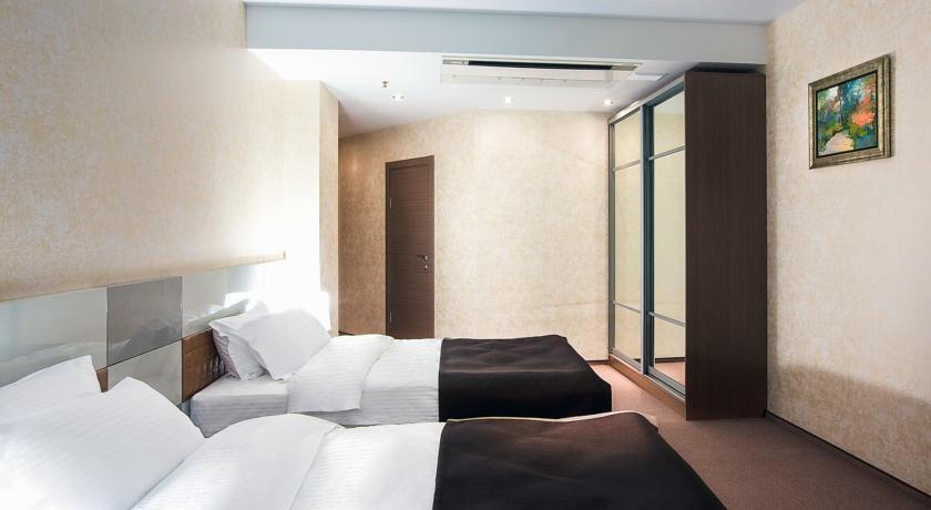 Фото номер Сити Стандартный двухместный номер с 2 отдельными кроватями