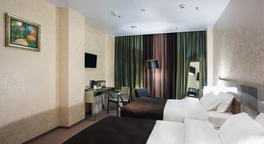 Фото номер Сити Двухместный номер с 2 отдельными кроватями - Для гостей с ограниченными физическими возможностями