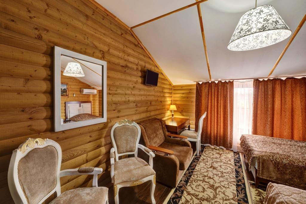 Фото номер Хуторок Двехместный Комфорт с 2 односпальными кроватями