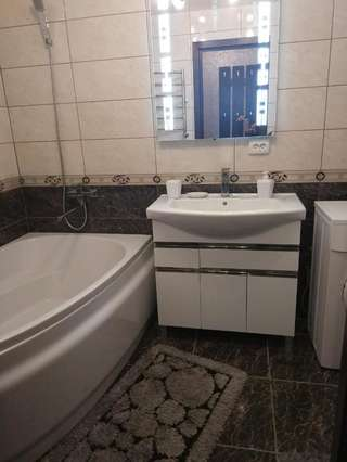 Фото Апартаменты Apartment 2Bed Rooms Lux on Gagarina Prospect Soborniy город Запорожье (24)