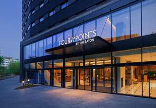 Отель Four Points by Sheraton Warsaw Mokotow