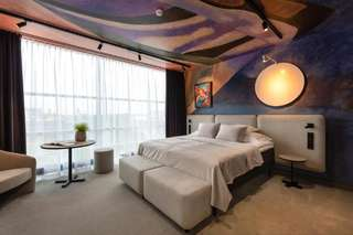 Отель Art Hotel Pallas by Tartuhotels
