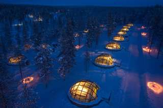 Отель Kakslauttanen Arctic Resort - Igloos and Chalets
